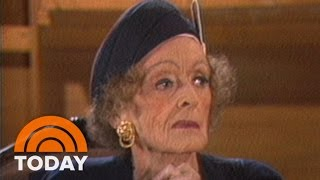 Download Bette Davis Talks To Bryant Gumbel About Joan Crawford In 1987 Interview | Flashback | TODAY Video