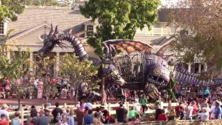 Download Disney Festival of Fantasy Parade - View from Tiana's Riverboat Party, The Magic Kingdom Video
