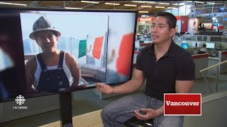 Download CBC News speaks to construction worker who flew Mexican flag from roof of Trump Tower in Vancouver Video