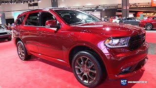 Download 2017 Dodge Durango GT AWD - Exterior and Interior Walkaround - 2016 LA Auto Show Video