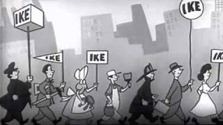 Download 1952 Eisenhower Political Ad - I Like Ike - Presidential Campaign Ad Video