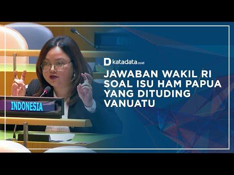 Vanuatu Kembali Serang Indonesia Soal Isu Papua, Ini Jawaban Wakil RI di PBB | Katadata Indonesia