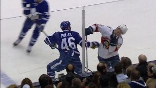 Download ICYMI: Polak's phantom high-sticking penalty reversed Video