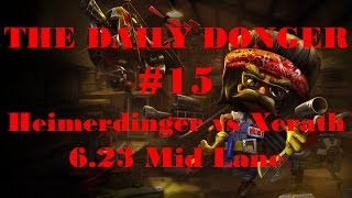 Download The Daily Donger #15 Heimerdinger vs Xerath Mid 6.23 Commentary Video