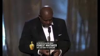 Download Forest Whitaker winning Best Actor for The Last King of Scotland Video