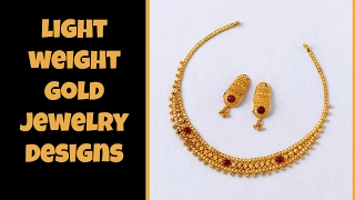 Download Light Weight Gold Jewellery Designs Video