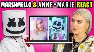 Download MARSHMELLO & ANNE-MARIE REACT TO THEMSELVES (Friends) Video
