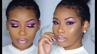 Download Colorful Summer Glitter Eyes | AaliyahJay Video