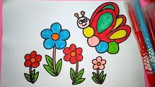 Cara Menggambar Dengan Gradasi Tema Bunga Free Download Video Mp4