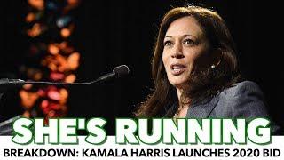 Download Breakdown: Kamala Harris Launches 2020 Bid Video