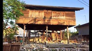Download รีโนเวท บ้านเก่าสองชั้นครึ่งปูนครึ่งไม้ ให้พ่อกับแม่ แบบโมเดิร์นร่วมสมัย งบ 800,000 บาท Video