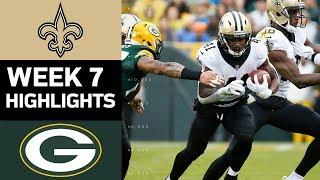 Download Saints vs. Packers | NFL Week 7 Game Highlights Video