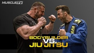 Download BODYBUILDER Vs. JIU JITSU FIGHTER Video