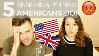 Download 🇺🇸 5 Things AMERICANS Do That Drive BRITS Crazy! 🇬🇧| American vs British Video