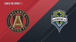 Download HIGHLIGHTS: Atlanta United FC vs. Seattle Sounders FC | July 15, 2018 Video