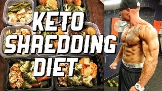 Download Keto Shredding Diet | Meal By Meal | Full Meal Plan Video
