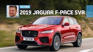 Download 2019 Jaguar F-Pace SVR: First Drive Review Video