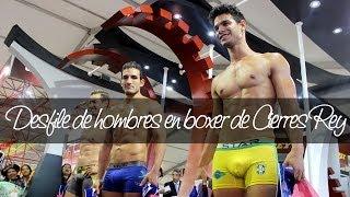 Download Desfile hombres en boxer de Cierres Rey en el Perú Moda 2014 | Unicas.pe Video