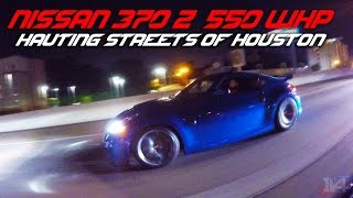 Download Nissan 370Z Rules the Streets of Houston on July 4th Video