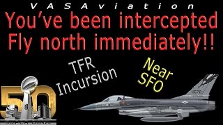 Download [REAL ATC] Aircraft INTERCEPTED by MILITARY F-16 at SUPER BOWL!! Video