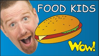 Download Pizza Hamburger + More Food for Kids from Steve and Maggie | Funny Cooking Story Time for Children Video
