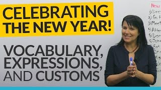 Download HAPPY NEW YEAR! What to say and do: expressions, customs, vocabulary 🎉 Video