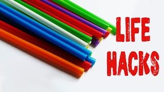 Download 6 Life hacks for drinking straws - Drinking straw tricks Video