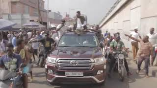 Download Shatta Wale storms Accra city Video