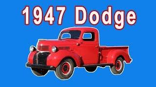 Download 1947 Dodge Pickup Restoration Video
