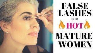 Download FALSE LASHES FOR HOT MATURE WOMEN   Nikol Johnson Video