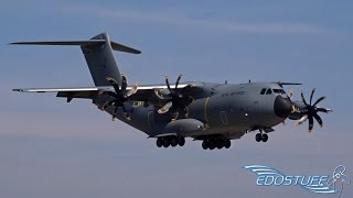 Download Royal Air Force - Airbus A400M Atlas ZM400 - First ever Landing at Split Airport LDSP/SPU Video