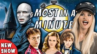 Download Who Can Name The Most Harry Potter Characters In A Minute? (NEW SHOW!) Video