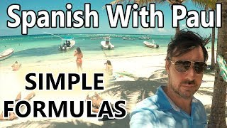 Download Learn Spanish With Simple Formulas... Spanish With Paul Video
