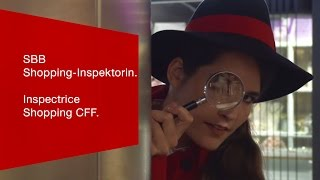 Download SBB Shopping-Inspektorin. L'inspectrice Shopping CFF. Video