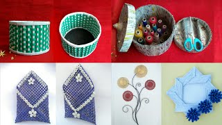 Download 5 ideas of Newspaper craft | best out of waste craft idea | recycle newspaper | HMA##420 Video