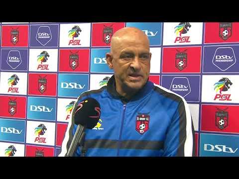 DStv Premiership   TS Galaxy v Kaizer Chiefs   Interview with Owen Da Gama