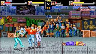 Download [Gameplay] Fatal Fury Final (OpenBor MOD) Video