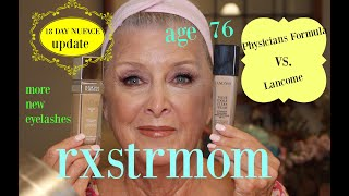 Download FOUNDATIONS COMPARED~OVER 70~ Physicians Formula vs Lancome/Nuface Update 🌸🍃 Video