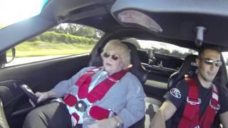 Download Mom rides a 1500hp Corvette Twin turbo Scare cam Video