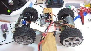 Download DIY RC Truck - Super Speed - Big DC motor Car / ev yapımı oyuncak kamyon! Video