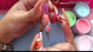 Download Técnica ventana cn marmoleado en acrilico Video