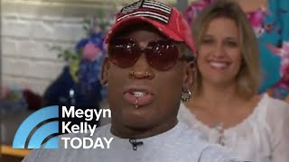 Download Dennis Rodman Describes The First Time He Met Kim Jong Un | Megyn Kelly TODAY Video