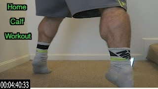 Download Intense 5 Minute At Home Calf Workout Video