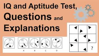 IQ and Aptitude Tests - Sample test questions, explanations and