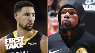 Download The Warriors plan to offer injured Klay and KD max contracts – Brian Windhorst   First Take Video