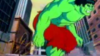 Download The Incredible Hulk intro animated series (1982) Video