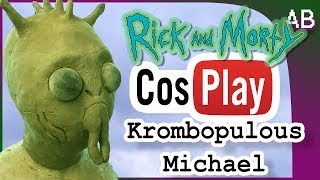 Download Krombopulous Michael Cosplay Sculpt - Rick and Morty Mask pt1 Video
