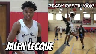 Download Jalen Lecque is Baby Westbrook! RENS Debut!! Official Spring Fling Mixtape! Full Highlights! Video