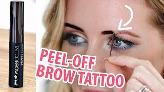 Download NEW MAYBELLINE 3 DAY BROW TATTOO | Review & Demo Video