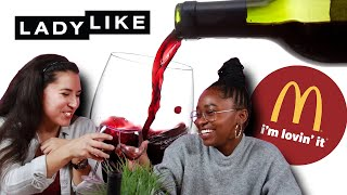 Download We Paired Wine With Our Favorite Fast Food • Ladylike Video